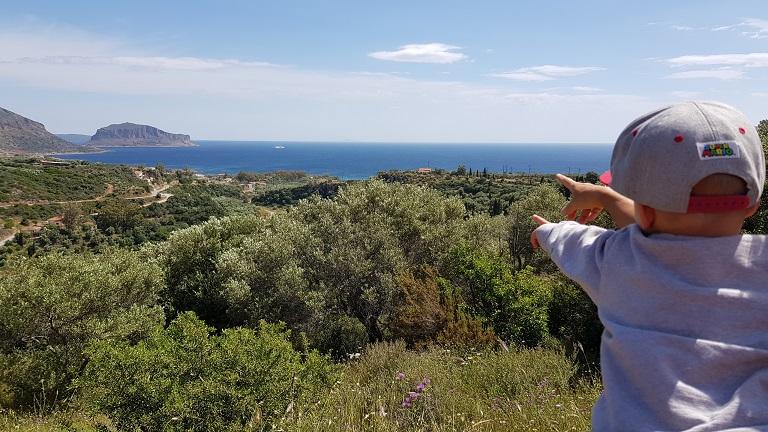 kleine Wanderung mit Blick auf Monemvasia