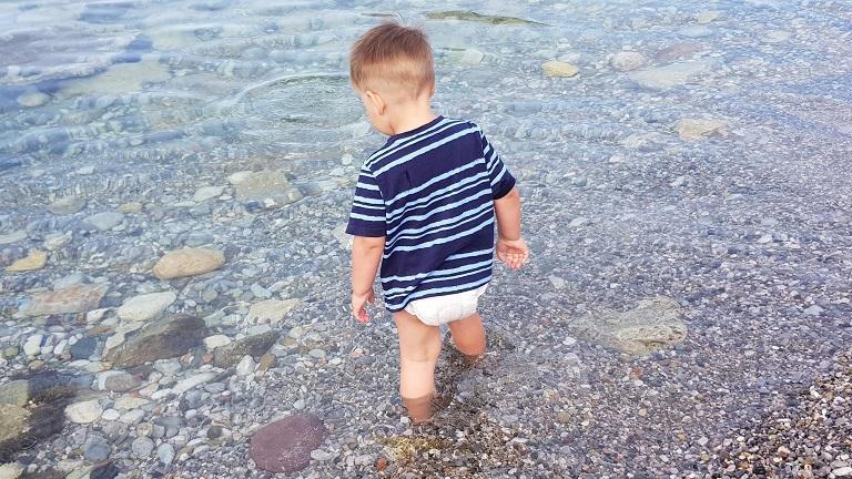 drum geht man auch am Kindergeburtstag ins Meer