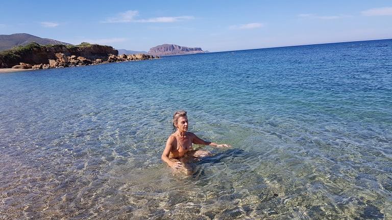 das Blau Griechenlands, Blau des Himmels Blau des Meeres und des Wassers