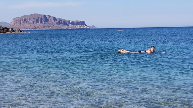 Tine liebt das Meer