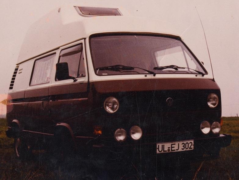 unser VW T3 in den Jahren 1980