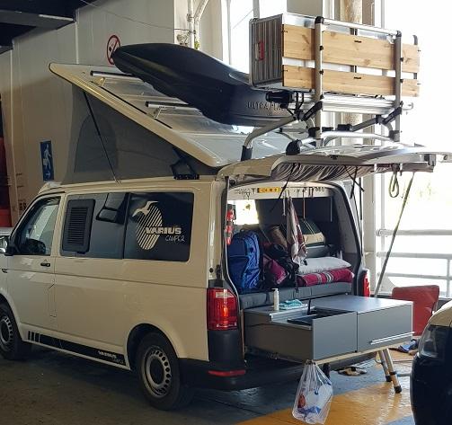 ein guter Platz auf der SUPERFAST 2 beim Camping on Board