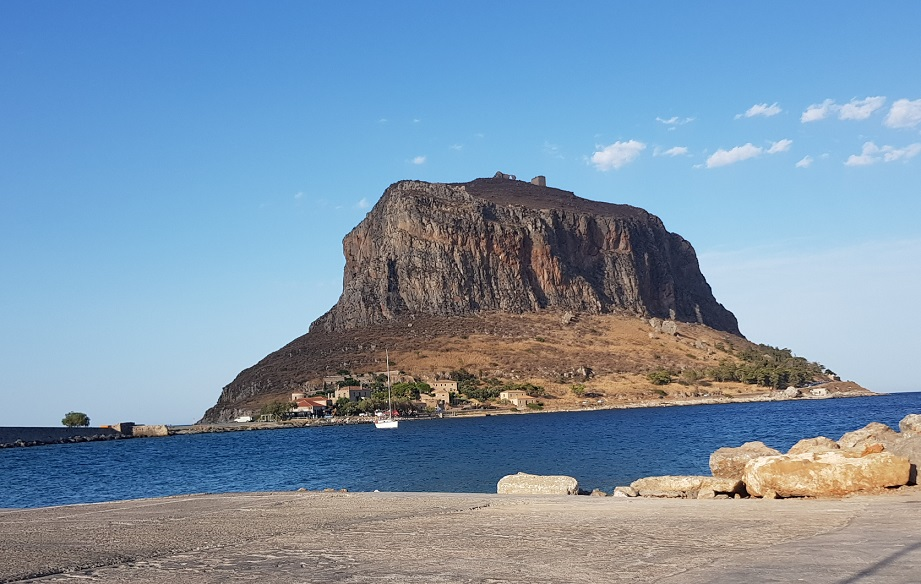 Rock and Kastro Monemvasia