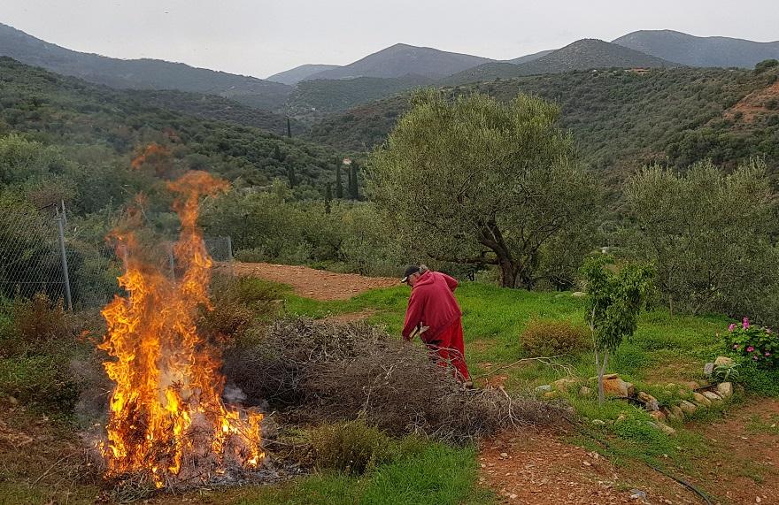 """von November bis März wird in Griechenland """"gebrannt"""""""