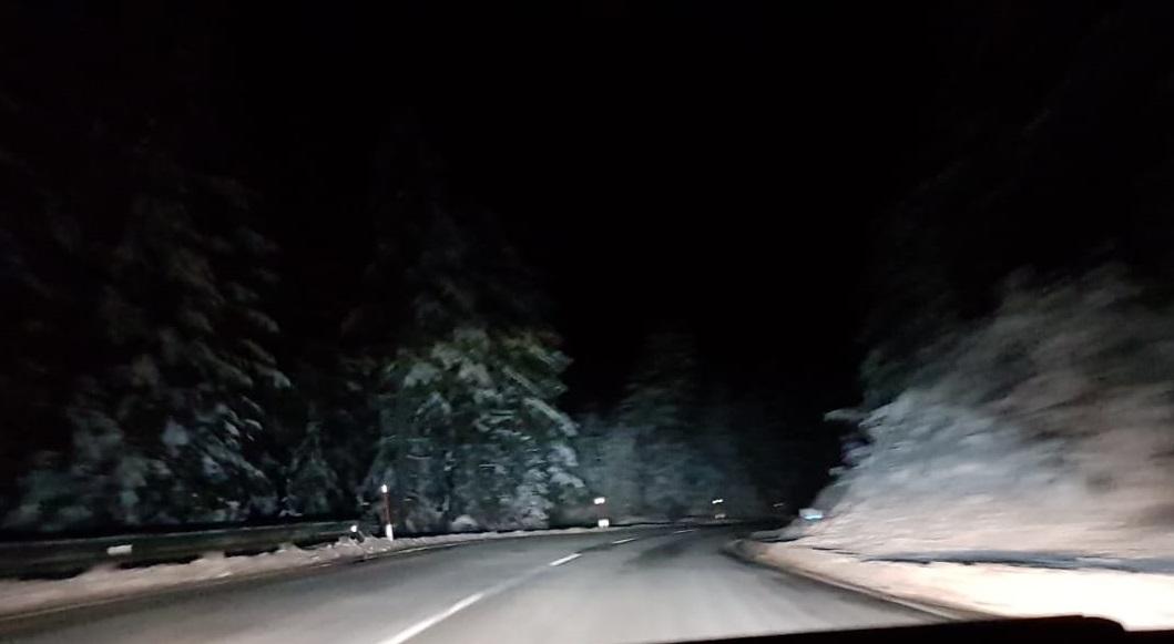 Schnee und minus 12 Grad am Fernpass